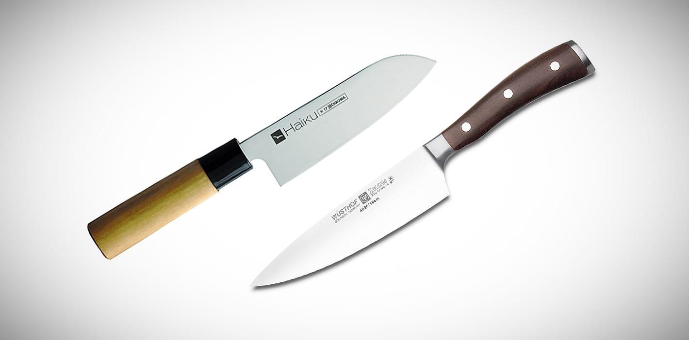 Japanisches oder deutsches Messer?